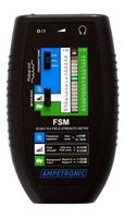 Picture of Ampetronic FSM - Field Strength Meter with Signal Connection Cables